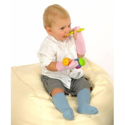 Rękawiczki niedrapki lecznicze na AZS dziecięce VISCOSE, Skinnies