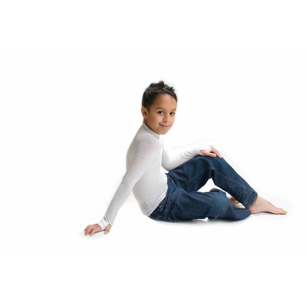 Koszulka dziecięca na długi rękaw lecznicza na AZS VISCOSE, Skinnies