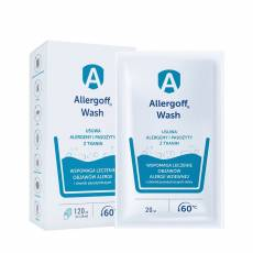 Allergoff WASH dodatek do prania, 6x20 ml ALLERGOFF®
