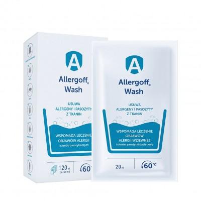 Allergoff WASH dodatek do prania, 6x20 ml ALLERGOFF®