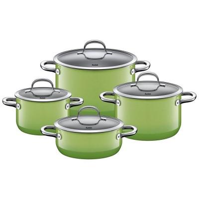 Zestaw 4 garnków Passion Green Silargan indukcja Silit