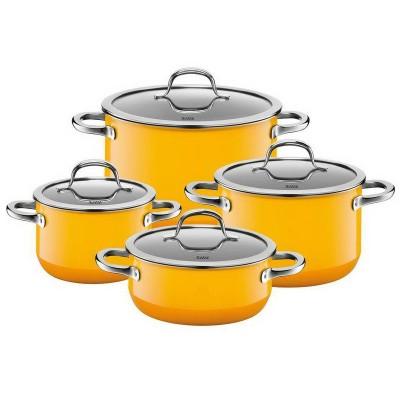 Zestaw 4 garnków Passion Yellow Silargan indukcja Silit