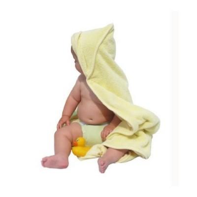 Dwustronny Ręcznik z Chłonnego Bambusa Close Bambus i minkee żółty