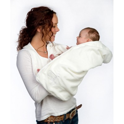 Cuddledry Baby Ręcznik Fartuch, biały