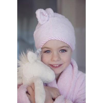 Cuddletwist Ręcznik na Włosy Różowy