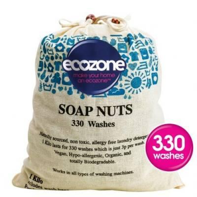 Ecozone - Orzechy do prania, 1kg, 330 prań