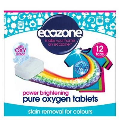 Odplamiacz do kolorów Pure oxygen, 12 tabletek Ecozone