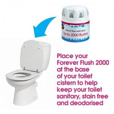 Ecozone, Odświeżacz do toalety na 2000 użyć, ORIGINAL - 2-pack