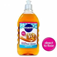 Ecozone, Płyn do mycia podłóg drewnianych, MIGDAŁOWY, 500ml