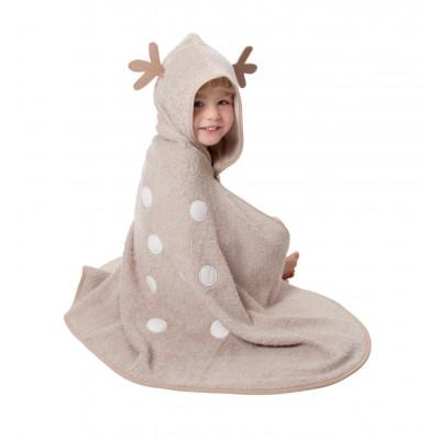 Cuddledry Dziecięcy Bambusowy Ręcznik, Jelonek, Cuddledeer