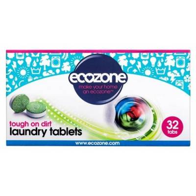 Ecozone, Tabletki do prania, 32 szt.