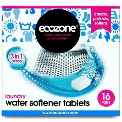 Tabletki zmiękczające wodę w pralce, 16 szt. Ecozone