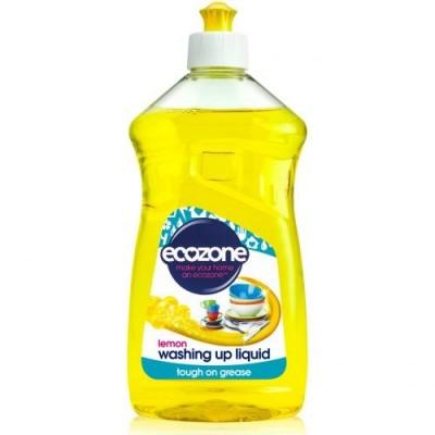 Płyn do Mycia Naczyń Cytrynowy Ecozone 500 ml