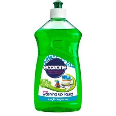 Płyn do Mycia Naczyń limonkowy Ecozone 500 ml