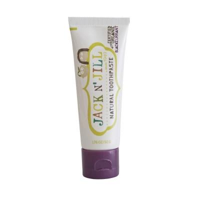 Naturalna Pasta do zębów organiczna czarna porzeczka i Xylitol, 50g Jack N'Jill
