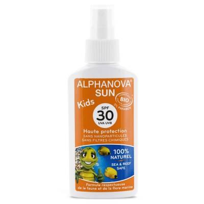 Alphanova Sun KIDS, Bio Spray Przeciwsłoneczny, filtr 30