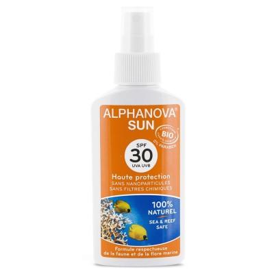 Bio Spray Przeciwsłoneczny, filtr SPF30 Alphanova Sun