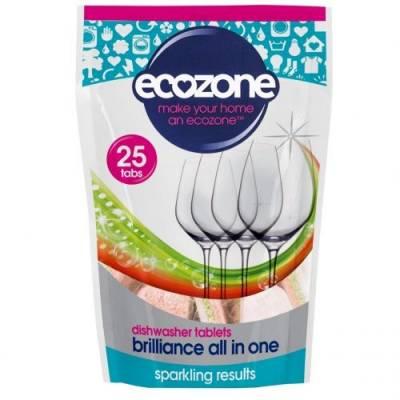 Tabletki do Zmywarki 5w1 Ecozone, 25 szt.