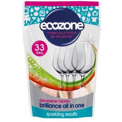 Tabletki do Zmywarki 5w1 Ecozone, 33 szt.