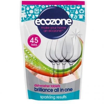 Tabletki do Zmywarki 5w1 Ecozone, 45 szt.
