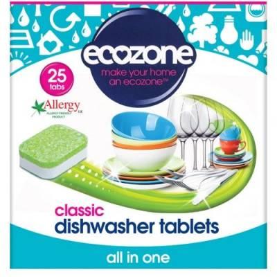 Tabletki do Zmywarki Classic Ecozone, 25 szt.