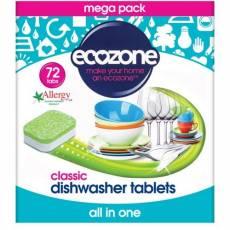 Tabletki do Zmywarki Classic Ecozone, 72 szt.