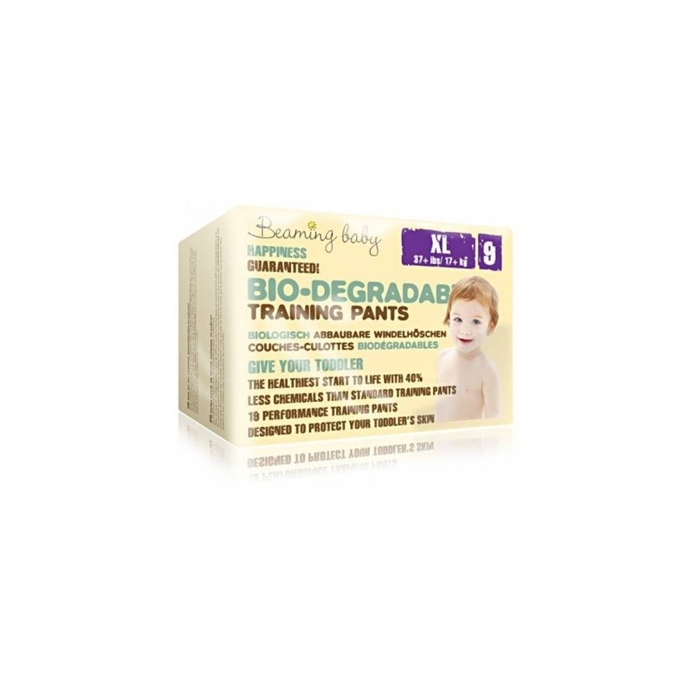 Beaming Baby PANTS jednorazowe biodegradowalne pieluchomajtki, XL, 19 szt.