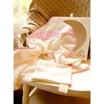 Zestaw Prezentowy dla Noworodka, różowy Cuddledry