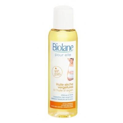 Naturalny olejek arganowy przeciw rozstępom dla kobiet w ciąży, 125ml BIOLANE MUM