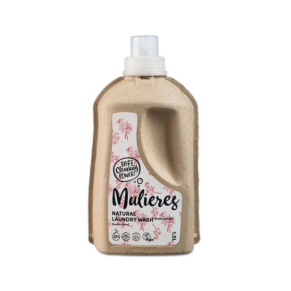 MULIERES, Naturalny koncentrat do prania Różany Ogród, 1,5L