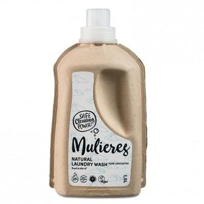 MULIERES, Naturalny koncentrat do prania Bezzapachowy, 1,5L