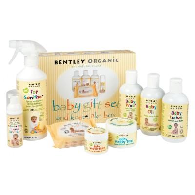 Dziecięcy Żel do Mycia i Szampon z Aloe Vera, Rumiankiem i Lawendą Bentley Organic