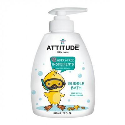 Attitude, Bąbelkowy płyn do kąpieli Gruszkowy Nektar (Pear Nectar) 300 ml