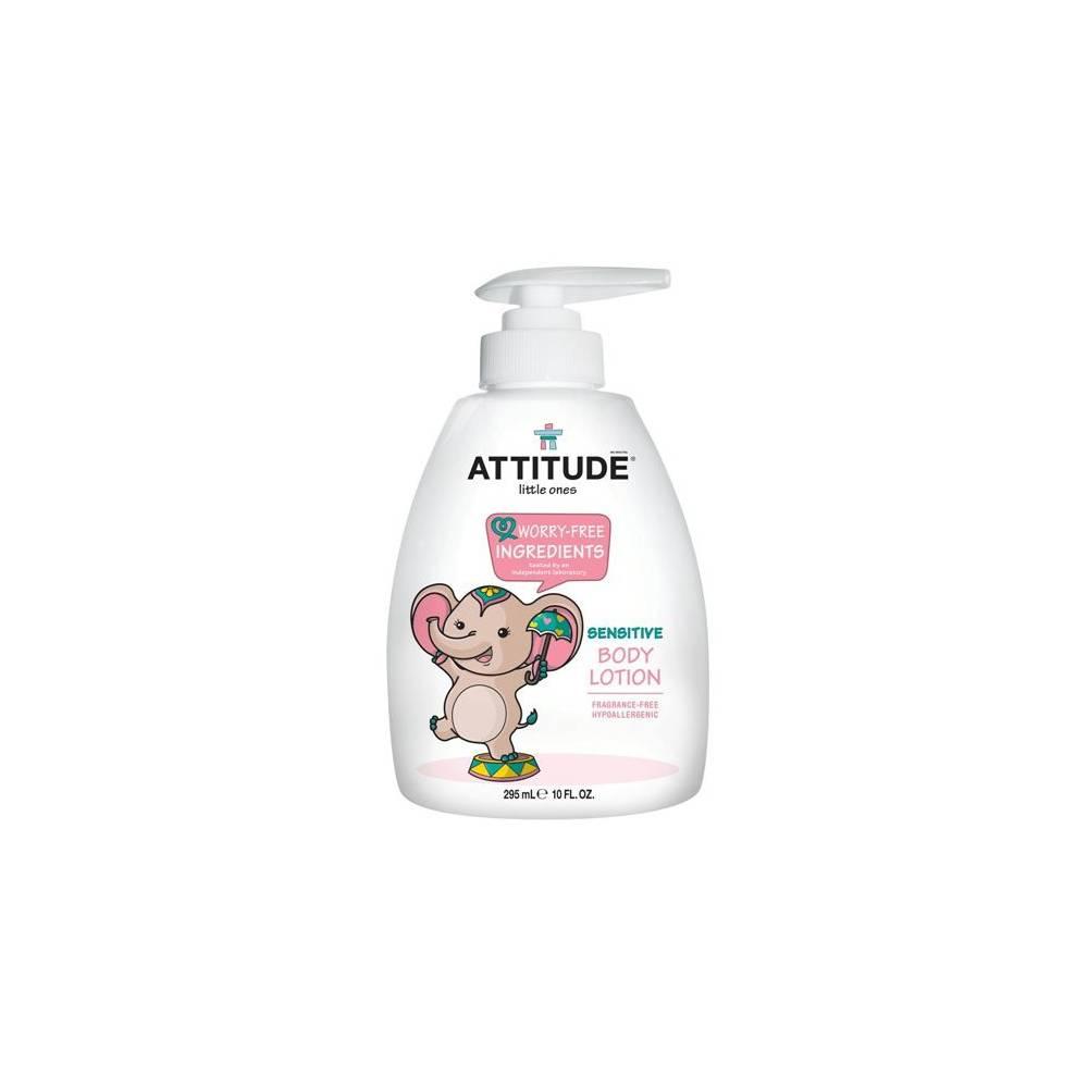 Attitude, Balsam do ciała dla dzieci bezzapachowy (fragrance free) 300 ml