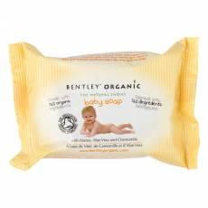 Dziecięce Mydełko z Miodem, Aloesem i Rumiankiem 100% Naturalne Bentley Organic