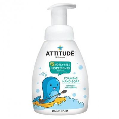 Attitude, Mydło w piance dla dzieci Gruszkowy Nektar (Pear Nectar) 295 ml