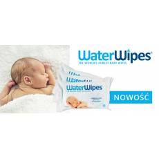 WaterWipes, Chusteczki nasączane czystą wodą, 60szt.