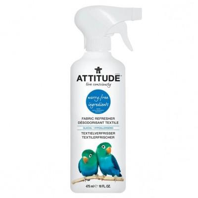Attitude, Odświeżacz do tkanin i pomieszczeń w sprayu Morska Bryza (Winter Breeze) 475 ml