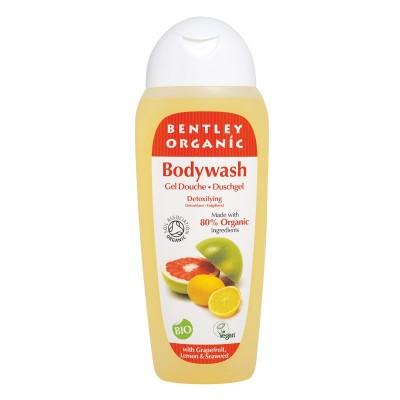 DETOKSYKUJĄCY Żel pod Prysznic z Grejpfrutem, Cytryną i Wodorostami Bentley Organic