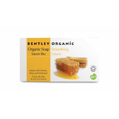 WYGŁADZAJĄCE Mydło z Miodu, Otrąb i Płatków Owsianych Bentley Organic