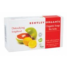 DETOKSYKUJĄCE Mydło z Grejpfrutem, Cytryną i Wodorostami Bentley Organic