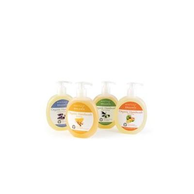ŁAGODZĄCE i  NAWILŻAJĄCE Mydło w Płynie z Lawendą, Aloesem i Jojobą Bentley Organic