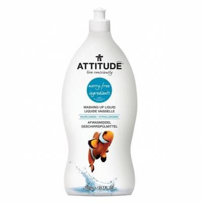 Attitude, Płyn do mycia naczyń Kwiaty Polne (Wildflowers) 700 ml