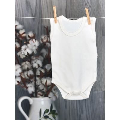 Nanaf Organic, BASIC, Body na ramiączkach, naturalne