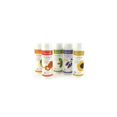 Szampon do Włosów Suchych i Zniszczonych z Oliwką, Aloesem, Pomarańczą i Granatem Bentley Organic