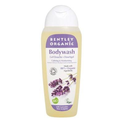 ŁAGODZĄCY i NAWILŻAJĄCY Żel pod Prysznic z Lawendą, Aloesem i Jojobą Bentley Organic