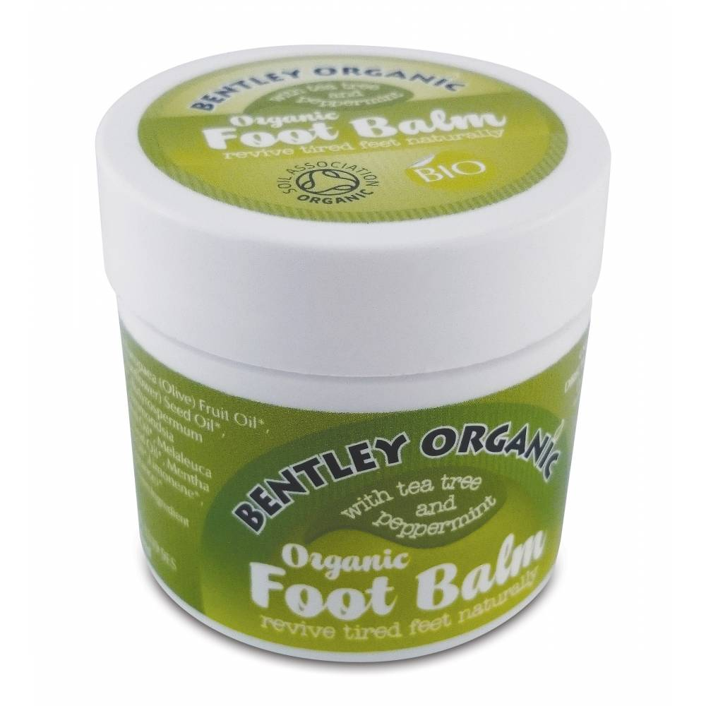 ORGANICZNY krem do stóp Bentley Organic, 27g