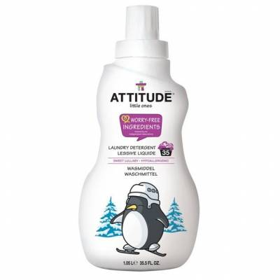 Attitude, Płyn do prania ubranek dziecięcych Słodka Kołysanka (Sweet Lullaby) 35 prań - 1050 ml
