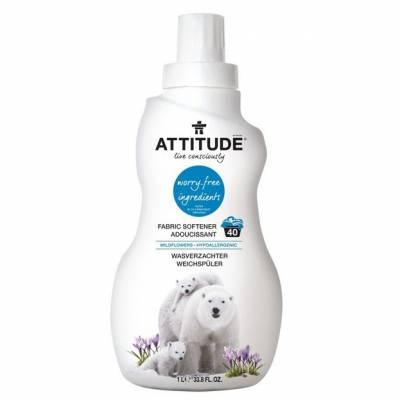 Attitude, Płyn do płukania Kwiaty Polne (Wildflowers) 40 płukań - 1040 ml