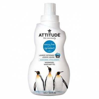 Attitude, Płyn do prania Kwiaty Polne (Wildflowers) 35 prań - 1050 ml